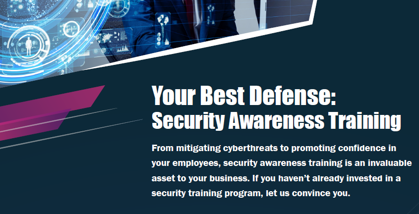 Your Best Defense: Security Awareness Training Thumbnail